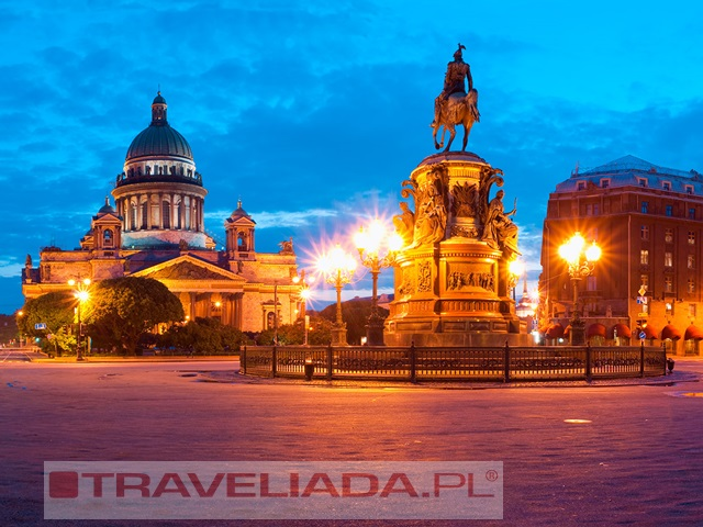 Sankt Petersburg - Wenecja Północy
